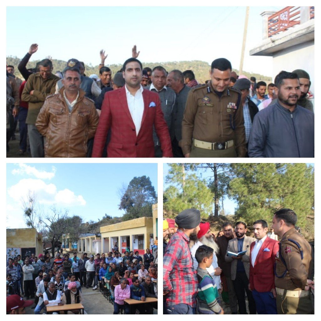 *DC Rajouri conducts a whirlwind tour of forward LoC areas *
