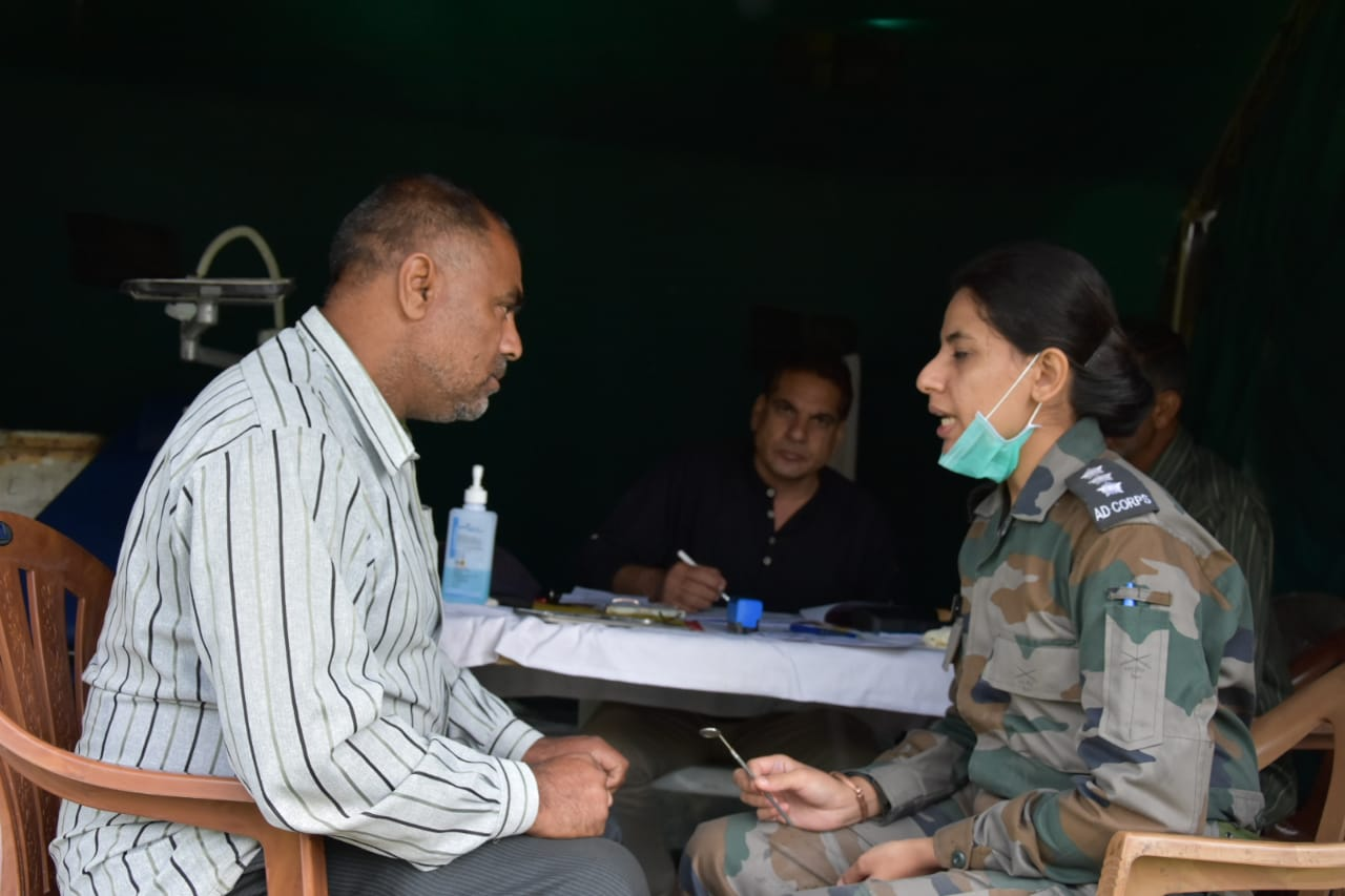 CONDUCT OF MED & DENTAL CAMP AT BALAKOTE
