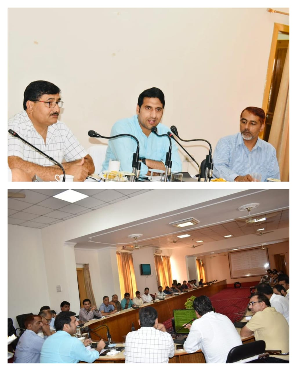 *DDC Rajouri reviews progress of 109 Languishing Projects under PWD sector*   _09 projects including 04 bridges,05 roads completed,15 projects to be completed by October end ._