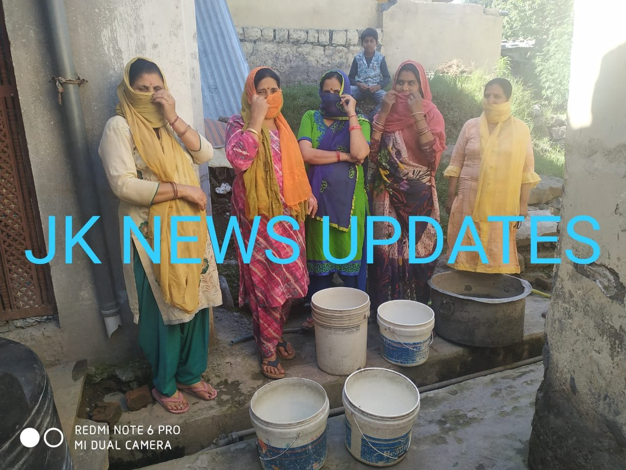 Mohalla Choki without water supply for last five years