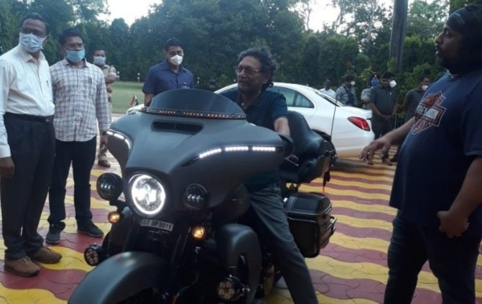 Chief Justice Sharad Arvind Bobde has often expressed his love for riding and on Sunday (June 28) he was pictured in Nagpur checking out a Harley Davidson.