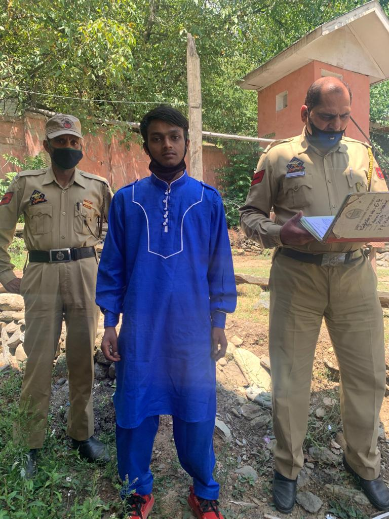 Missing boy from kupwara traced after 7 years.