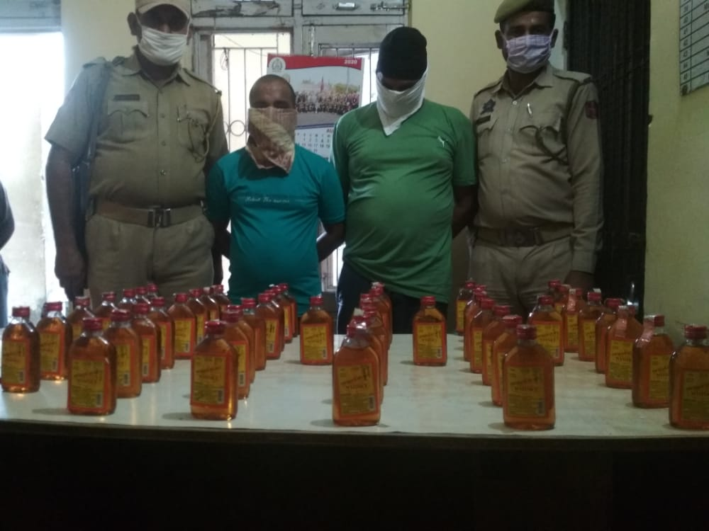 Two Bootleggers arrested by Distt.Jammu Police in the jurisdiction of P/S Miran Sahib