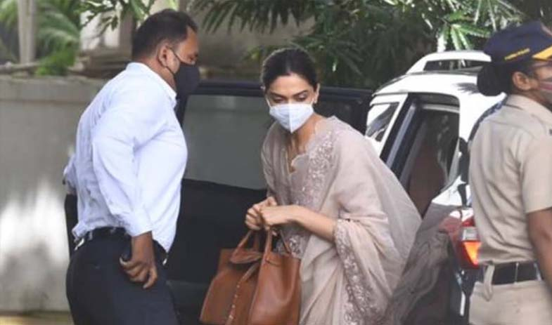 Deepika Padukone Arrives For Questioning In Drugs Probe Linked To Sushant Rajput Death