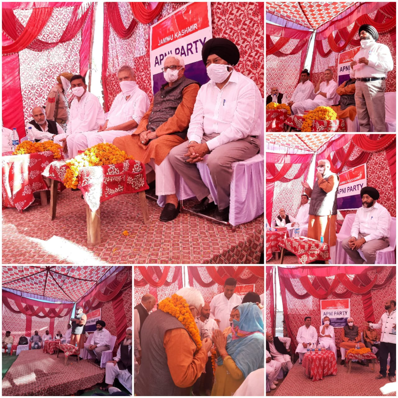 Apni Party continues to hold public contact programmes across Jammu