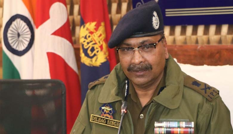 Youth surrendering in live actions a welcome development: J&K DGP Dilbagh Singh