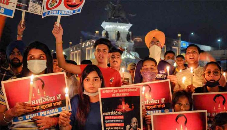 Political storm over Hathras gang-rape intensifies; AAP leaders to protest at India Gate, Section 144 imposed