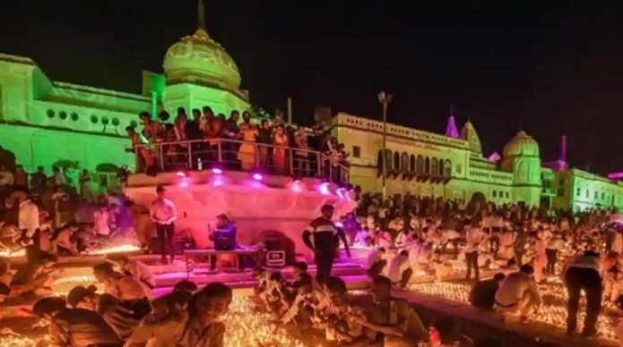 Ayodhya administration seeks Guinness record for lighting earthen lamps