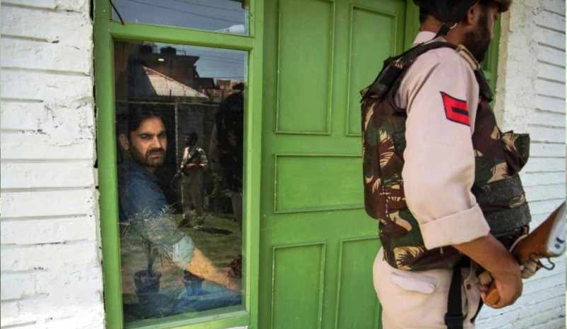 CIK raids Waheed Para's residence, others locations in Pulwama