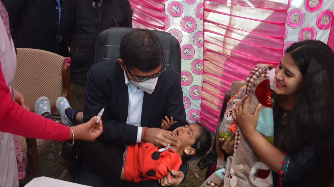 DDC Poonch launches 03 days long Pulse Polio programme in the district