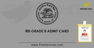RBI Grade B Phase 1 Admit Card 2021 Released @rbi.org.in, Check RBI Officer Prelims Admit Card Download Link Here, Exam on 6 March