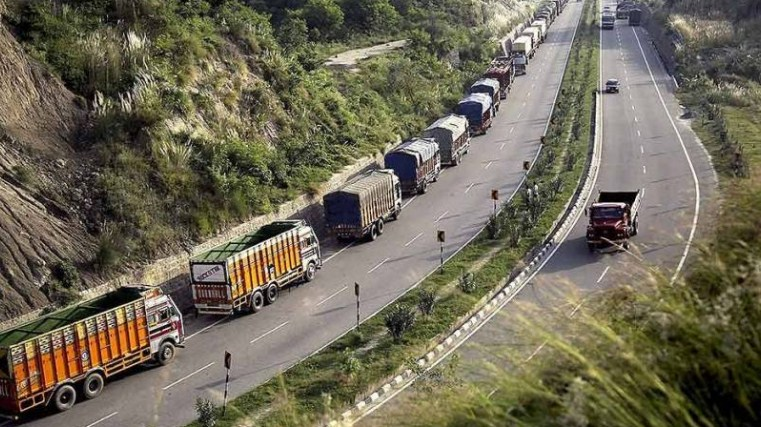 One-way LMV traffic from Jammu on Srinagar-Jammu highway today