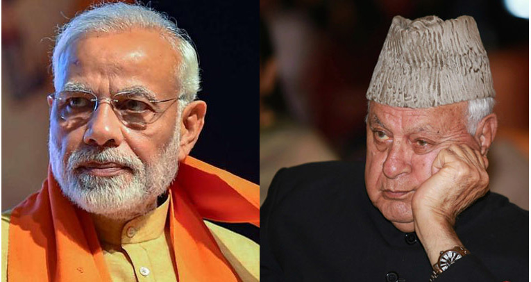 Farooq Abdullah tests positive for COVID; PM Modi wishes him speedy recovery