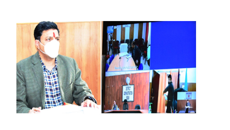 Div Com Jammu reviews land acquisition for BRO projects
