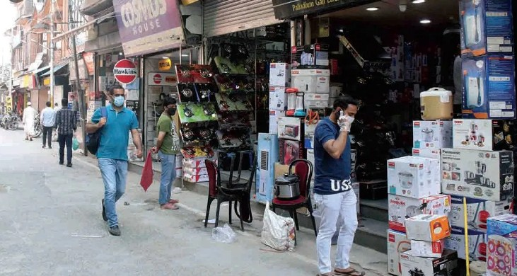 Surge in Covid-19 Cases: Markets to open on rotation basis in Srinagar