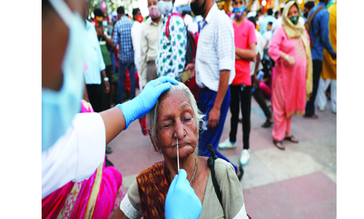 India records highest single-day rise of 2,95,041 COVID-19 cases, 2,023 deaths
