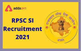 RPSC SI Recruitment 2021: Apply Online for 859 Rajasthan Police Sub Inspector & Platoon Commander Posts @rpsc.rajasthan.gov.in from 9 June