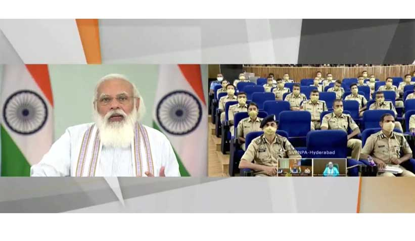 PM Modi interacts with IPS probationers, tells them next 25 years crucial for India's development