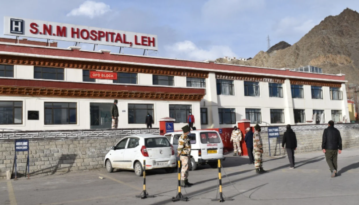 7 new positive cases reports in UT Ladakh;8 patients cured and discharged
