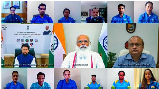 Entire Olympics contingent to be PM Modi's special guest at Red Fort on this Independence Day